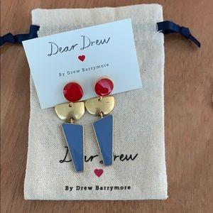Dear Drew earrings by Drew Barrymore